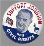 Support Johnson and Civil Rights