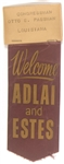 Welcome Adlai, Estes Louisiana Otto Passman Ribbon