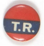 "Roosevelt ""TR"" Red, White and Blue Celluloid"
