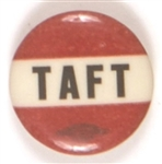Taft Red and Black Celluloid