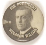 Wilson for President Black and White Celluloid