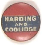 Harding, Coolidge Red. White and Blue Litho