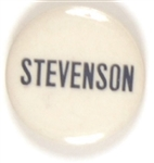 Stevenson Blue and White Celluloid