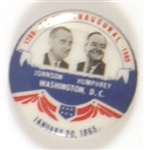 Johnson-Humphrey Inaugural Jugate