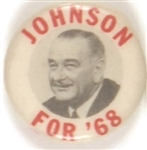 Johnson for 68
