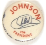 Johnson for President Stetson Hat