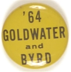 Goldwater and Byrd, Virginia