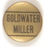 Goldwater-Miller Gold and Black
