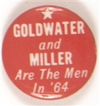 Goldwater and Miller are the Men in 64