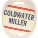 Goldwater, Miller Red, White and Blue Celluloid
