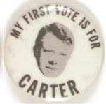 First Vote for Carter
