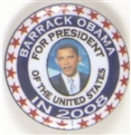 Obama for President 2008 Celluloid