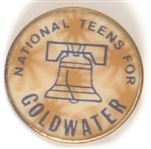 National Teens for Goldwater Flasher
