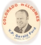 Colorado Welcomes Vice President Ford