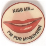 Kiss Me Im for McGovern Flasher