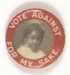 Temperance Vote Against for My Sake African-American Child