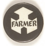 Farmer New York Civil Rights Related Pin