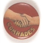 Comrades Shaking Hands Celluloid