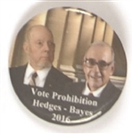Hedges, Hayes Prohibition Party