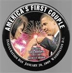 Obamas, Americas First Couple Fist Bump Pin