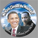 "Obama, King ""We Have Climbed the Mountain"""