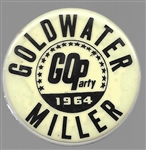 Barry Goldwater GOParty Glow in Dark Pin
