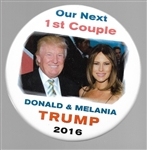 Donald and Melania Trump Our Next First Couple