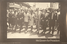 McGovern Civil Rights March Poster