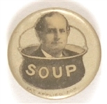William Jennings Bryan Soup Celluloid
