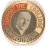 Support the Coolidge Administration
