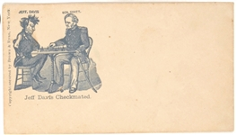 Jefferson Davis, Winfield Scott Civil War Cover