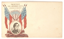 Jefferson Davis Champion of the South Cover