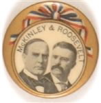 McKinley and Roosevelt Ribbon Design Jugate