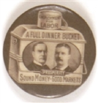 McKinley-TR Brown Dinner Bucket