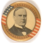 McKinley Gold Border with Stars,  Stripes