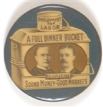 McKinley-TR Blue Dinner Bucket Without Pince Nez String