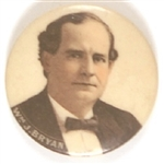 William Jennings Bryan Handsome Celluloid