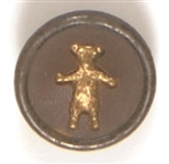 Theodore Roosevelt Teddy Bear Clothing Button