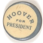Hoover for President Unusual Celluloid