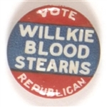 Willkie, Blood, Stearns New Hampshire Coattail
