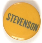 Stevenson Yellow and Blue Celluloid