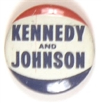 Kennedy and Johnson 1960 Litho