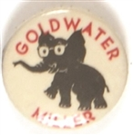 Goldwater Elephant Celluloid