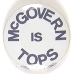 McGovern is Tops