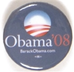 Obama Smaller Size 2008 Celluloid