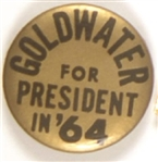 Goldwater for President in 64