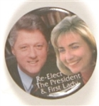 Bill and Hillary Color Jugate