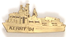 Kerry Swift Boat Lapel Pin