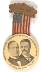 McKinley-TR National Republican League Badge
