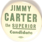 Jimmy Carter Superior Candidate